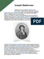 Biography François-Joseph Naderman