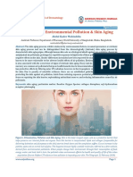 Urbanization, Environmental Pollution & Skin Aging