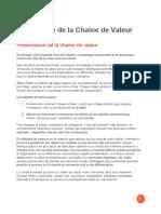 Chaine de Valeur Actinnovation