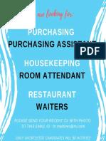 Job Advert 24082019