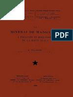 Nat.sc.(IRCB)_T.xvi,1_POLINARD, E._le Minerai de Manganèse à Polianite Et Hollandite de La Haute Lulua_1946