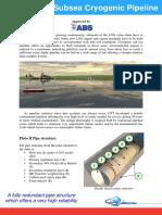 Brochure - GTT Pluto II Subsea Cryogenic Pipeline