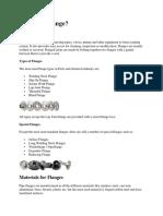 Flanges and Its Description