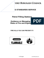 petrol station risk assesment