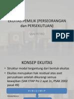 Ekuitas Pemilik (Perseorangan, Persekutuan Dan Perseroan)