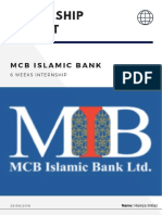 MCB REPORT