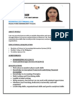 My resume upload