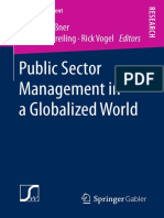 (NPO-Management) René Andeßner, Dorothea Greiling, Rick Vogel (Eds.) - Public Sector Management in a Globalized World-Gabler Verlag (2017)