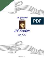 Mauro Giuliani 24 Etudes.pdf