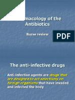 Pharmacology Powerpoint- Antibiotics