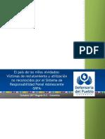 El Pais de Los Ninos Olvidados Victimas de Reclutamiento y Utilizacion No Reconocidos Por El SRPA