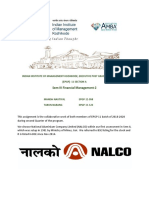 FM 2 Assignment Submission - Manish Nautiyal & Taruna Narang - NALCO