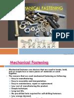 mechanical fastening