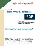 Legislatie educationala