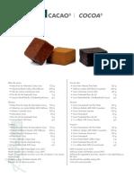 Cubitos de Cacao Rrss