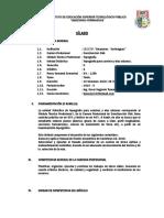 4.- Sílabo - Topografía p Caminos y Vias u