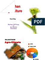 Rajasthan State agriculture scenario