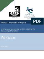 Pakistan MER 2009