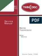 Mg 514 c Service Manual