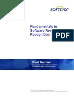 Fundamentals Software.revenueRecognition