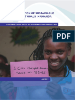 Uganda CSO Statement to 2019 HLPF (July 2019)