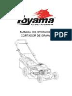 Cortador de Grama Gasolina Toyama Tlm510s (1)