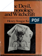 The Devil Demonology and Witchcraft the Development of Christ