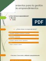 herramientas para gestion emprendimientos