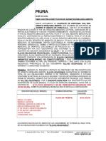 Modelo de Contrato de Preconstitucion Actualizado - Agencia Mercado
