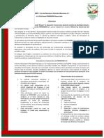 Convocatoria VI Congreso FORMEDEM. Abril