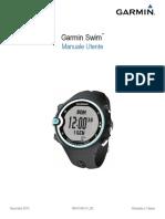 Manuale Garmin Swim