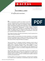 El Espíritu Del Terrorismo-Jean Baudrillard