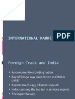 International Marketing - Trade