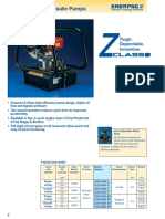 pump brochure for hydraulic machines