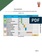 Cronograma Referencial Del Pip