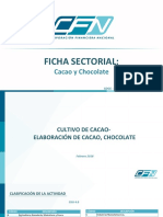 Ficha Sectorial Cacao