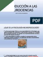 1.Diap. Introducción a La Neuropsicología