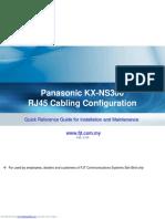 KX-NS300 RJ45 Cabling Configuration