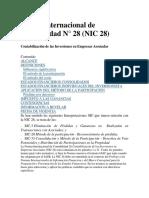 NIC 28