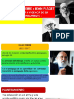Paulo Freire - Jean Piaget