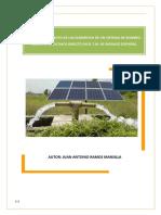 DIMENSIONADO DE UN SISTEMA DE BOMBEO SOLAR.pdf