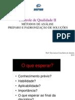 Aula 3- Controle de Qualidade II 2019.