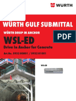 Submittal_wsl-ed Drop in Anchor_2018