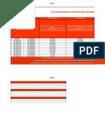 Tabela de Valores Com Planos Flex