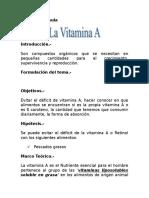 Trabajo Biologia de La Vitamina A