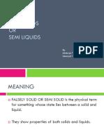 Semi Solids