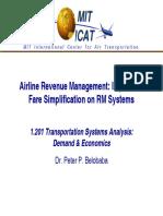 MIT Courseware Airline Revenue Management