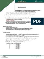 Aeromodelling Rule Book