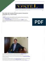 Revistel Peru Debe Dar Los Pasos Decisiv