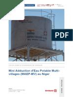 Article Mini Adduction DEau Potable Multi Villages Swissaid Niger 2016